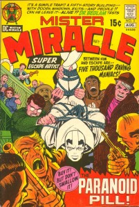Cover of Mr Miracle (volume 1) 3 - The Paranoid Pill