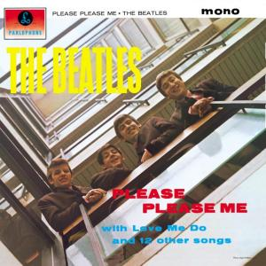 The cover to Please Please Me, from 1963