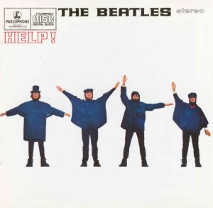 Cover of the Beatles' Help! album