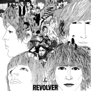 Cover to the Beatles album Revolver, by Klaus Voorman