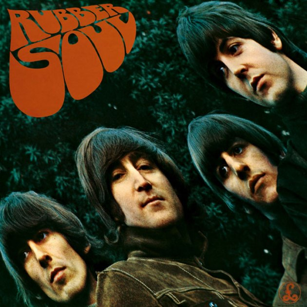 Cover of Rubber Soul by The Beatles