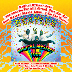Cover to Magical Mystery Tour by the Beatles
