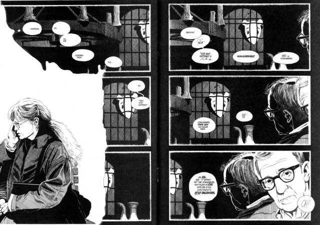 Double page spread from Latter Days. Even when the story was at its least pleasant, the art is stunning