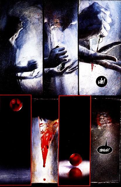 page from Arkham Asylum