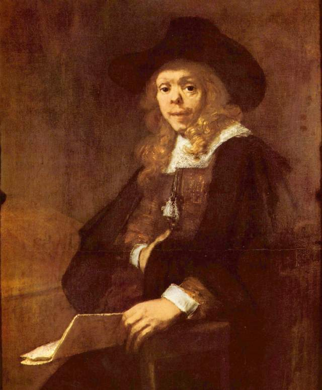 Painting of Harmensz by Rembrandt