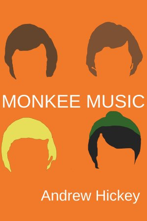 Monkee Music cover, drawn by myself