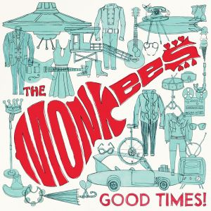 cover art for the forthcoming Monkees album